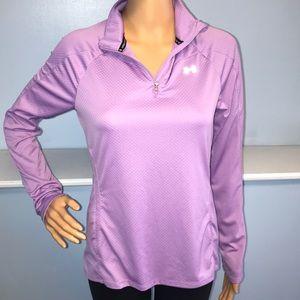 Under Armour women's medium purple heat gear